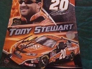 TONY STEWART SIGNED PHOTO