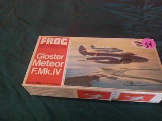 GlOSTER METEOR F MK IV MODEl AIRPlANE KIT