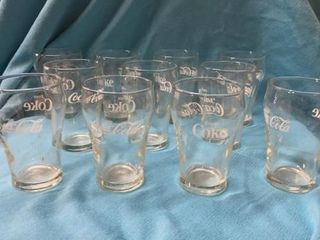 SMAll COCA COlA GlASSES HOlDS ABOUT 4 OZ 11 TOTAl