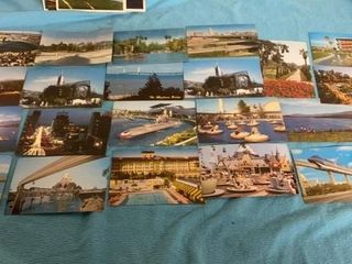 20 VACATION POSTCARDS FROM THE 60IJS AND 70IJ