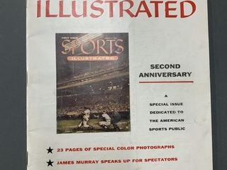 August 1956 Sport Illustrated Magazine