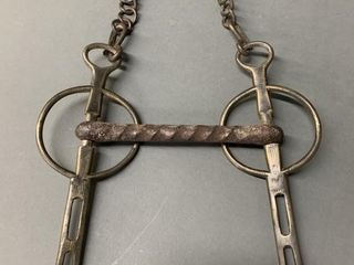 Blacksmith Forged Horse Bridle Parts DIJcor