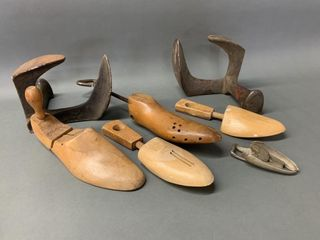 Grouping of Early Shoe Repair and Stretchers