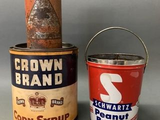 Schwartz Peanut Butter and Other Tins