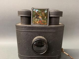 Magic lantern with Colour Slide