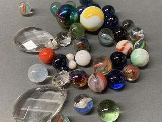Vintage Marbles and Pendants