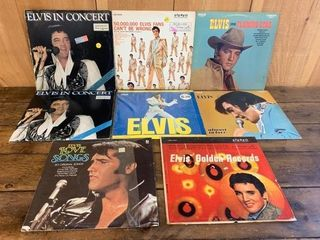 Grouping of ElVIS Collector lP Record