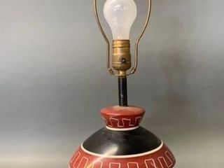 Mid Century Modern Tri Footed lamp