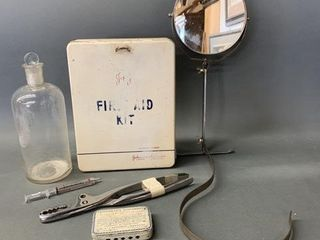 Medical and First Aid Collectables