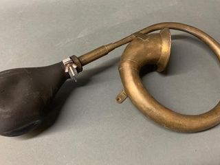 Old large Brass Car Horn
