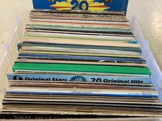 large lot of Record lPS From Various Genres