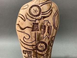 Native Pottery Vase with Nice Impressions