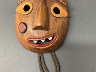 Vintage Small African Tribal Mask