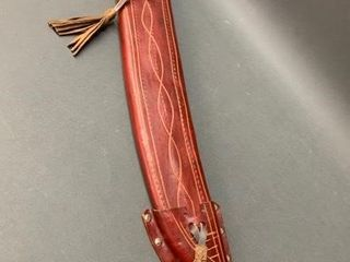 Hand Made leather Scabbard 26