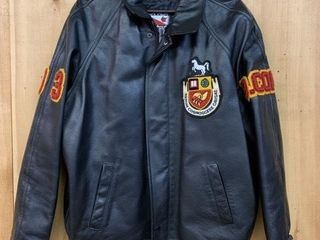 University of Guelph leather Jacket