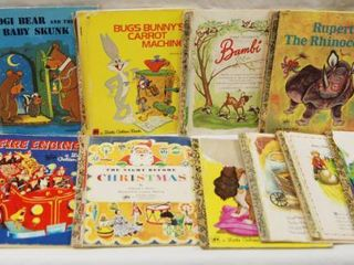 lot of Childrens little Golden Books See Photos