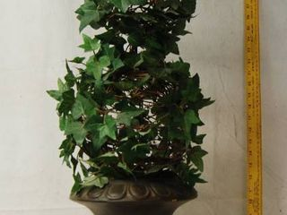 Very Nice TAll TOPIARY Artificial Green Ivy Flower Decor