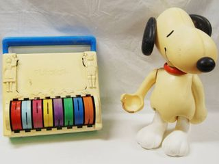 Vintage Toys  Playskool  322  Toy  and Snoopy Neat Find