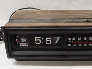 General Electric   AM FM Radio   Alarm Clock  7 4305B
