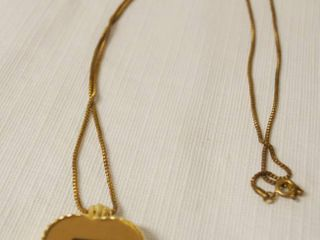 Very Nice Quartz Clock Necklace