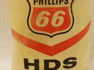 Vintage Phillips 66 HDS Motor Oil   1 Quart