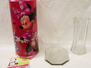 Minnie Cylinder Table lamp  and Misc