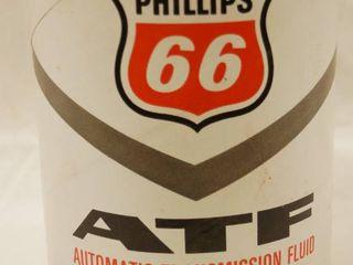 Vintage Phillip 66  ATF Automatic Transmission Fluid  1 Quart