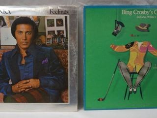 Vintage 12  Record Albums   Paul Anka     Bing Crosby s Greatest Hits  Includes White Christmas