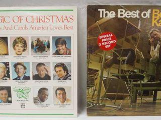 Vintage 12  Record Albums  The Magic of Christmas  Christmas Songs   Carols     The Best of Bert Kaempfert