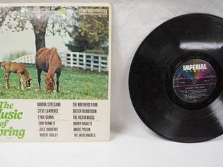Vintage 12  Record Albums  The Music of Spring  Vol 3     Imperial   Sandy Nelson