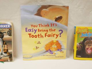 lot of 3 Books   Kitty Corner  You Think It s Easy Being the Tooth Fairy    Just Joking 2