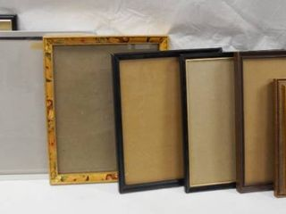 lot of 8 Picture Frames