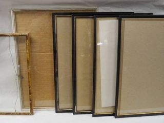 lot of 6 Picture Frames