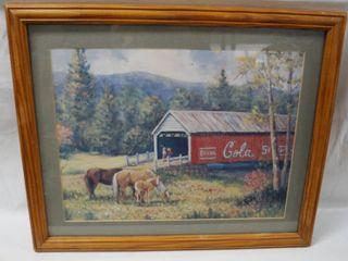 Beautiful  Coca Cola  Farm Picture