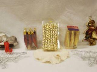 Christmas Misc   Craft Items  Cards  Ornaments  light Bulbs  etc