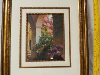 Flower Framed Art Wall Picture