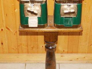 Vintage Gum Ball   Candy Dispenser