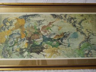 Framed Art Wall Picture  20x40  Academy Arts   Subject By Pang