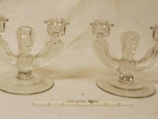 Pair of Matching Taper Candle Holders   Fancy Up your table for the holidays