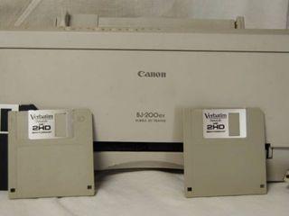 Canon Jet Printer   BJ 200ex Bubble Jet Printer