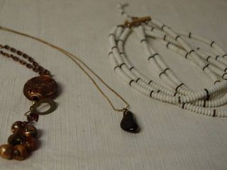 lot of 3 High Style Necklaces
