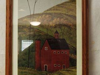 Country Framed Art Wall Picture