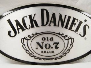 Jack Daniels Metal Wall Sign   It s good sized  See Photos