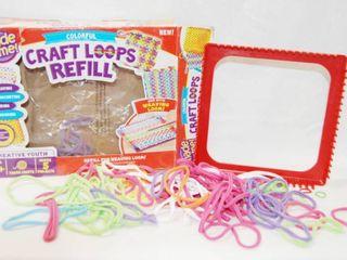 Cool Vintage Craft Pot Holder Maker   Craft loops   Colorful
