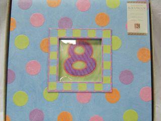 SCRAPBOOK   K   Co   Customizable Cover  In Original Box