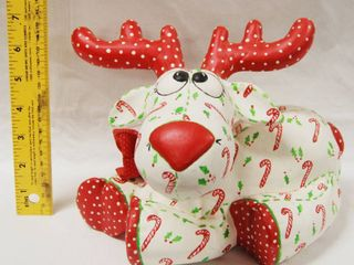 Christmas Reindeer  With a Movable Head  Very Cute