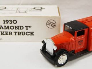 1930  Diamond T  Tanker Truck  locking Coin With Key