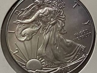 2013 American Eagle Silver Dollar   1 oz of  999 fine Silver