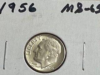 1956 Roosevelt Dime