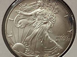 2006 American Eagle Silver Dollar   1 oz of  999 fine Silver